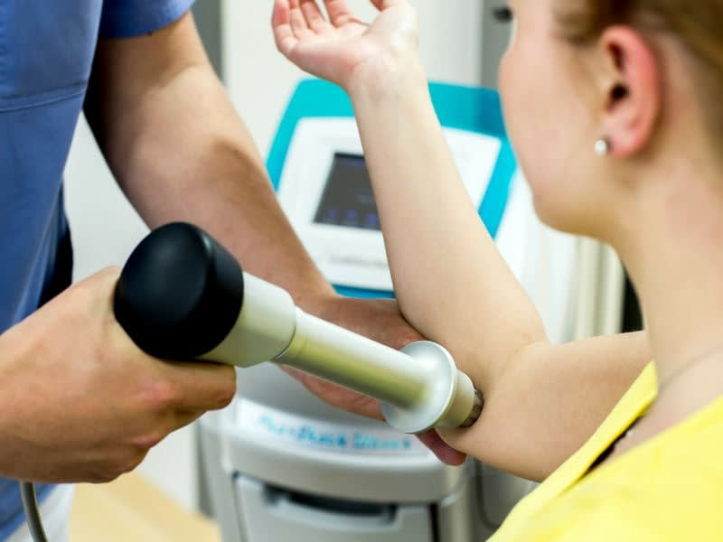 Strefa fizjoterapii leczniczej - badanie