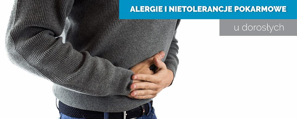 alergie i nietolerancje pokarmowe u dorosłych