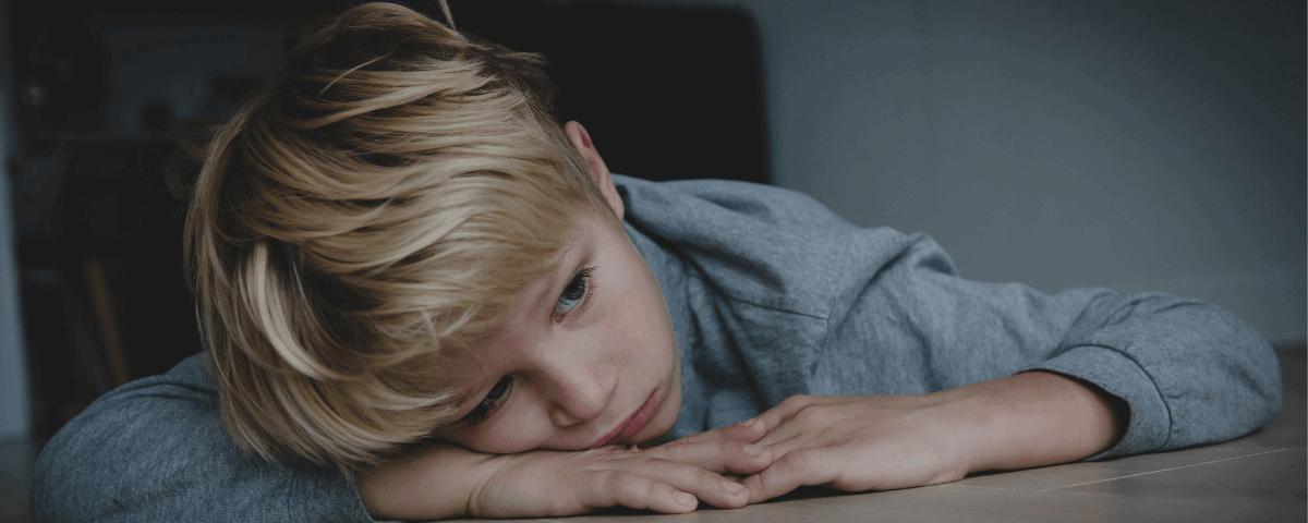 dziecko z depresją