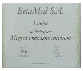 """I miejsce w Plebiscycie DZ """"Miejsca Przyjazne Seniorom"""""""